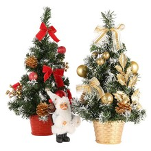 20cm 30cm 40cm Mini Christmas Trees Decorations A Small Pine Tree Placed In The Desktop Festival Home Party Ornaments