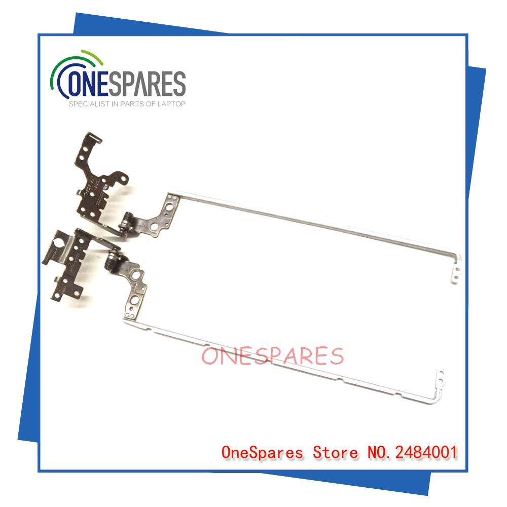 New Original Laptop LCD Hinges Kit For Genuine HP 15 N 15-N 15-N021SE 15-F U86 TPN-0130/TPN-0132 P/n:F8TW8002010 Series R & L