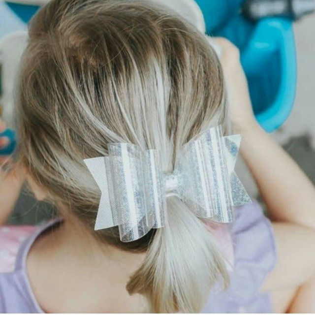 Girl's Waterproof Polyester Hair Bow