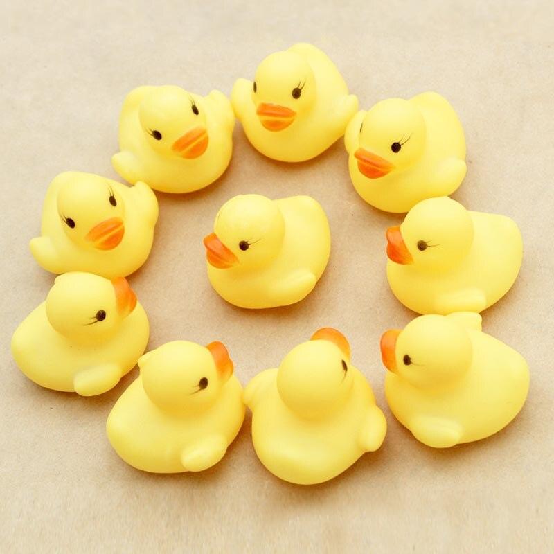 5pc Mini Rubber Ducks Bath Toys EN1226