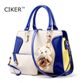 CIKER New Women leather handbags shoulder bag fashion messenger Bags high quality Women famous brands purse and handbags blosos