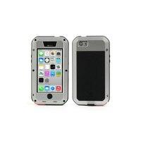 אהבת מיי מתכת + סיליקון מקרה 5 ג iPhone Defender עוצמה עבור iPhone 5c טלפון נייד פגז כיסוי תיק פגז