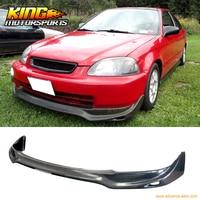 Fit For 96 97 98 Honda Civic JDM JUN Style PU Front Bumper Lip Spoiler