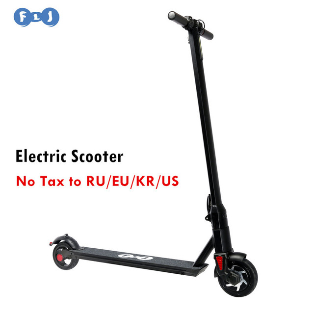 Flj Foldable Electric Scooter Bike Bicycle Skateboard Battery 5 2ah 6 6ah For Children Hot Kick Board