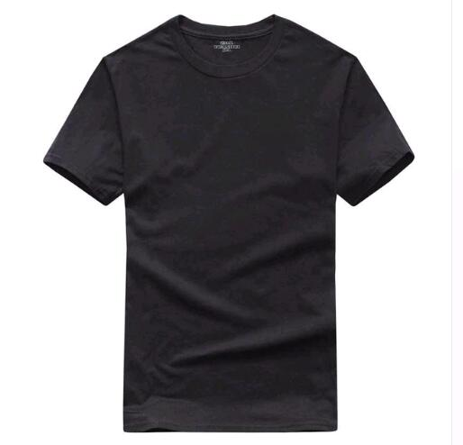 T Shirt Mens Black White T-shirts 2017 Summer Skateboard Tee Boy Hip hop Skate Tshirt Tops LZ-60