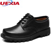 Safety Men Safety Work Formal Shoes Men Leather Flats Dress Oxfords Anti-collision Steel Toe Shoes Outdoor Protection Footwear