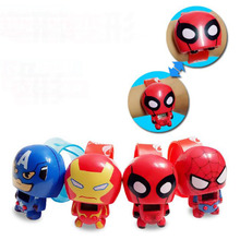 1 Pc Hot sale Children's cartoon watches iron man spiders captain American electronic