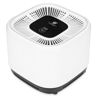 FIMEI Portable Air Purifier Cleaner Desktop Anion Sterilization Remove Cigarette Smoke Odor Smell Bacteria For Home Office
