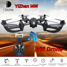 WIFI RC Drone Yizhan i4w RC Quadcopter With WIFI Camera One Key Return Remote Control toy WIFI FPV Aerial Helicopter vs mjx x101