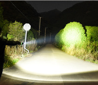 Супер мощный светодиодный cree p70 теплый белый свет лампа USB заряжаемый факел Наружное освещение охотничья лампа тактический фонарик