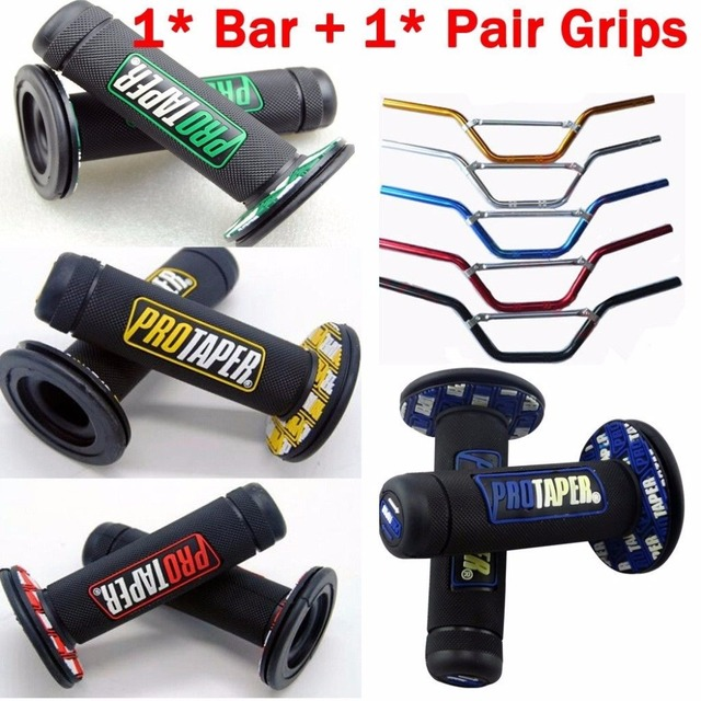22mm 7 8 Handle Bar Hand Grip For Pit Dirt Trail Bike Thumpstar