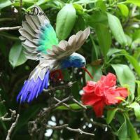 Artificial penas voando colibri prateleira exibição aves estatuetas ornamento artesanato suprimentos de decoração para casa|Estatuetas e miniaturas| |  -