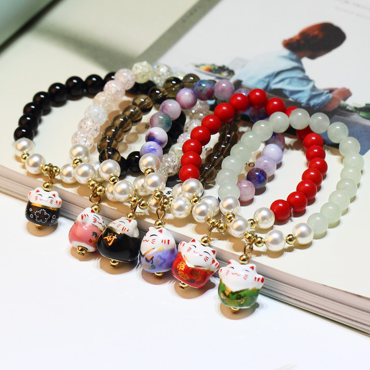 wholesale 2020 New Charm Beads Crystal from Austrian Bracelet for Women Authentic Jewelry Fine  girl Gift