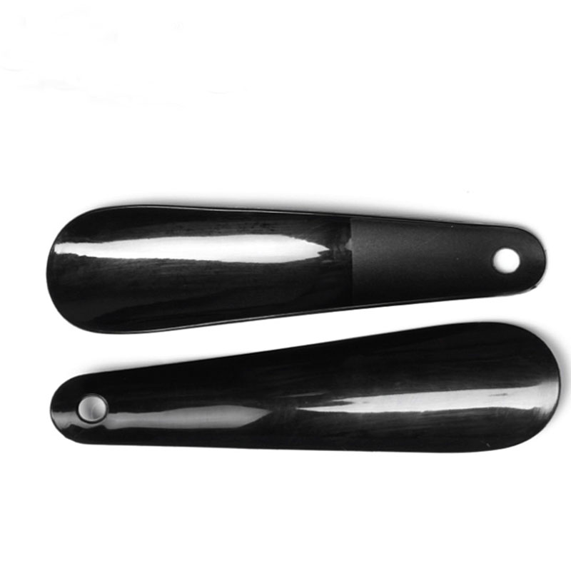 16 cm Long handle shoe horns high quality plastic shoe horns new shoes accessories to help wear shoe horns