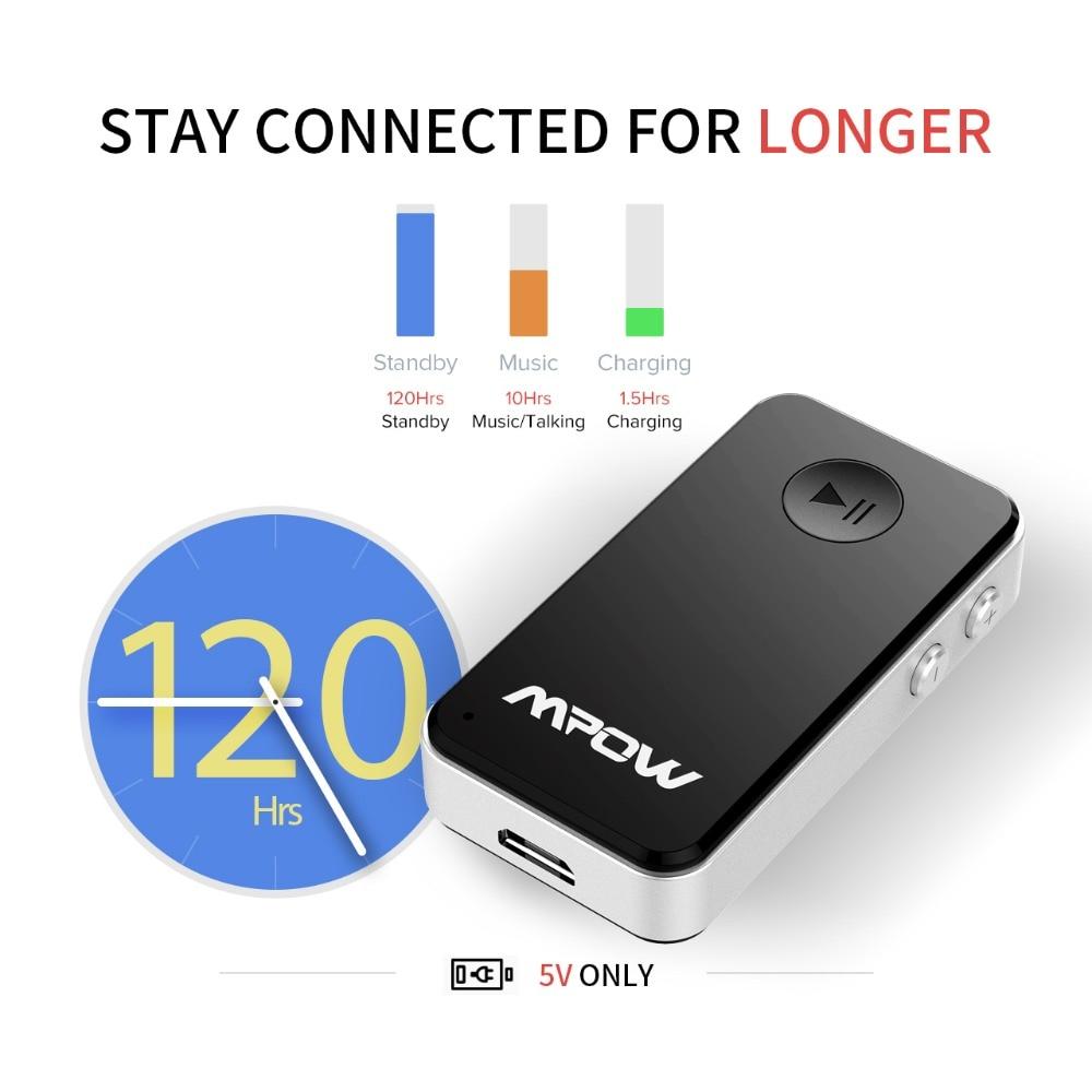 Mpow MBR1 mini Bluetooth 4.0 prijemnik zvučnik bežični adapter 3.5 - Prijenosni audio i video - Foto 5