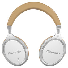 Bluedio F2 font b headset b font with ANC Wireless Bluetooth Headphones with microphone support music