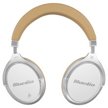 Bluedio F2 headset with ANC Wireless Bluetooth Headphones with microphone support music(China)