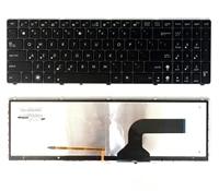 New Uk Laptop Keyboard For ASUS G53 G60 G73 G51 G72 K52 K53 X73 Backlit Backlight
