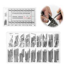 1 Set Watch Pins 1mm Diameter Stainless Steel Repair Tools W