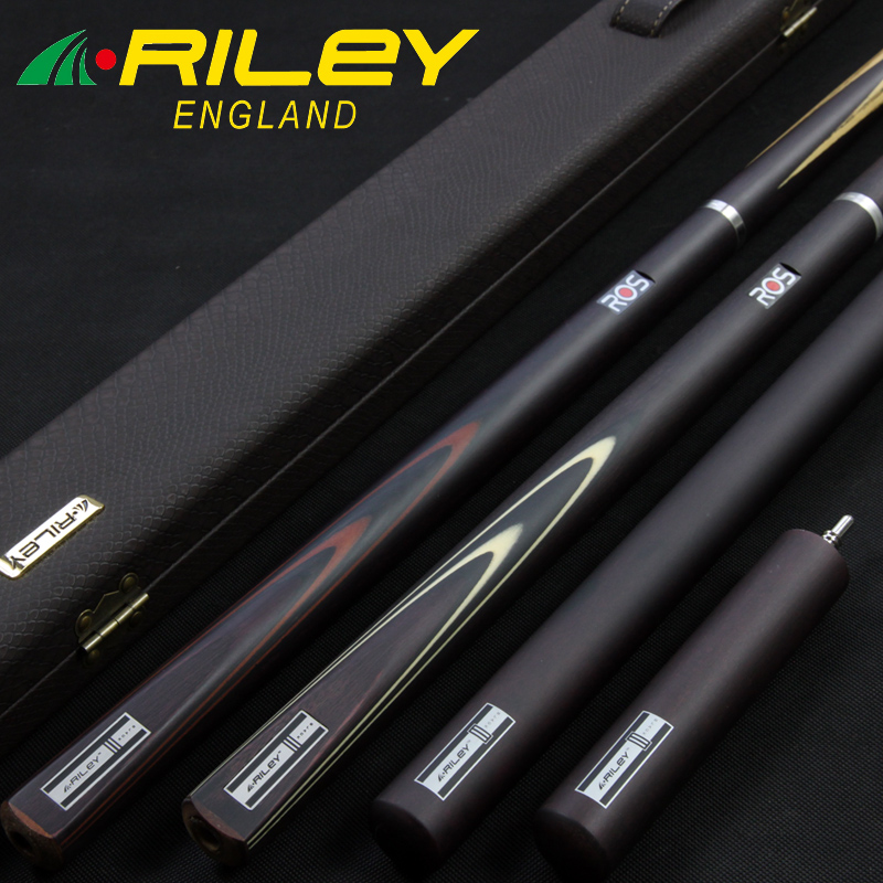 Professional 3/4 RILEY Snooker Cue For Competition High-end Handmade Billiard Cue Kit Stick with Case with Extension for Players
