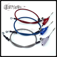 Motorcycle Hydraulic Clutch Master Slave Cylinder Rod System Efficient Transfer Pump With 1200MM Hose For Dirt