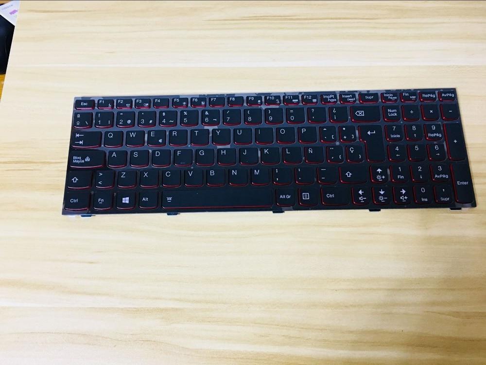 New laptop keyboard for LENOVO Y500 Y590 Y510P Y500N Y500NT SPANISH/Thailand/UK/US layout new turkey laptop keyboard for lenovo y590 y500 y510p tr laptop keyboard with frame blacklight