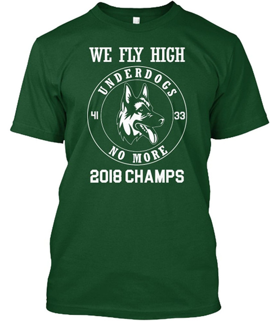 6f69163b1 T Shirts For Sale Fashion Underdogs No More 2018 Super Bowl Champions Crew  Neck Short Sleeve Mens T Shirts