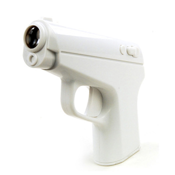 Silent Snooze Snooze Function Only Shock No Sound Desktop Gadgets High Quality Creative 007 Pistol Projection Alarm Cloc