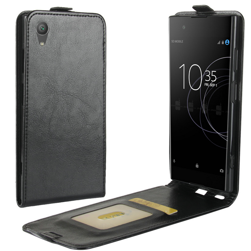 Flip Cover for <font><b>Sony</b></font> Xperia XA1 Plus Case Retro Leather Case for Xperia XA1+ Dual G3421 G3423 G3412 <font><b>G3416</b></font> G3426 Phone Bags & Case image