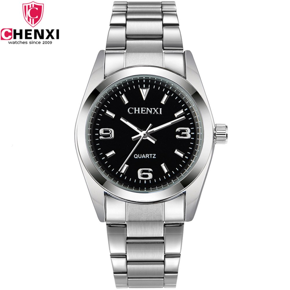 CHENXI Brand Military Casual Sport Watch Fashion Men Full Stainless Steel Waterproof Quartz clock Wristwatch relogio masculino betty liu work smarts what ceos say you need to know to get ahead