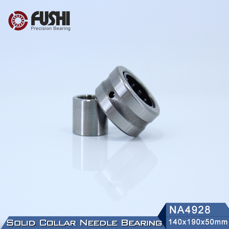 NA4928 Bearing 140*190*50 mm ( 1 PC ) Solid Collar Needle Roller Bearings With Inner Ring 4524928 4544928/A Bearing bk5020 needle bearings 50 58 20 mm 1 pc drawn cup needle roller bearing bk505820 caged closed one end 55941 50