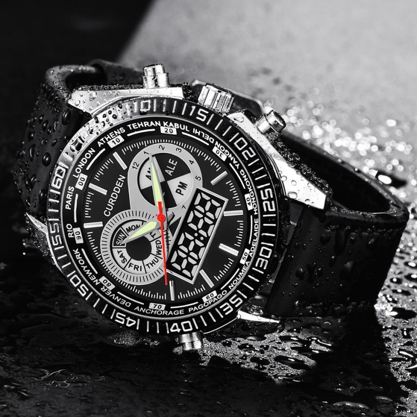 Szybka wyprzedaż! Wodoodporna luksusowa marka męska Business - Męskie zegarki - Zdjęcie 6