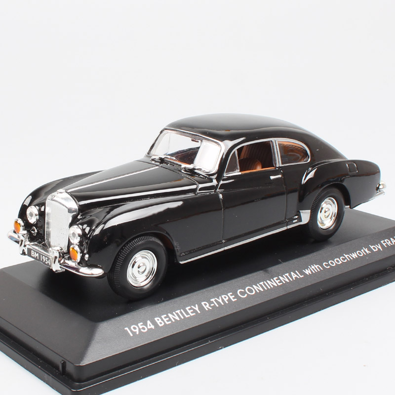 Kid's 1/43 Scale Luxury Road Signature 1954 Bentley R Type Continental With Coachwork By Franay Diecast Vehicles Cars Models Toy