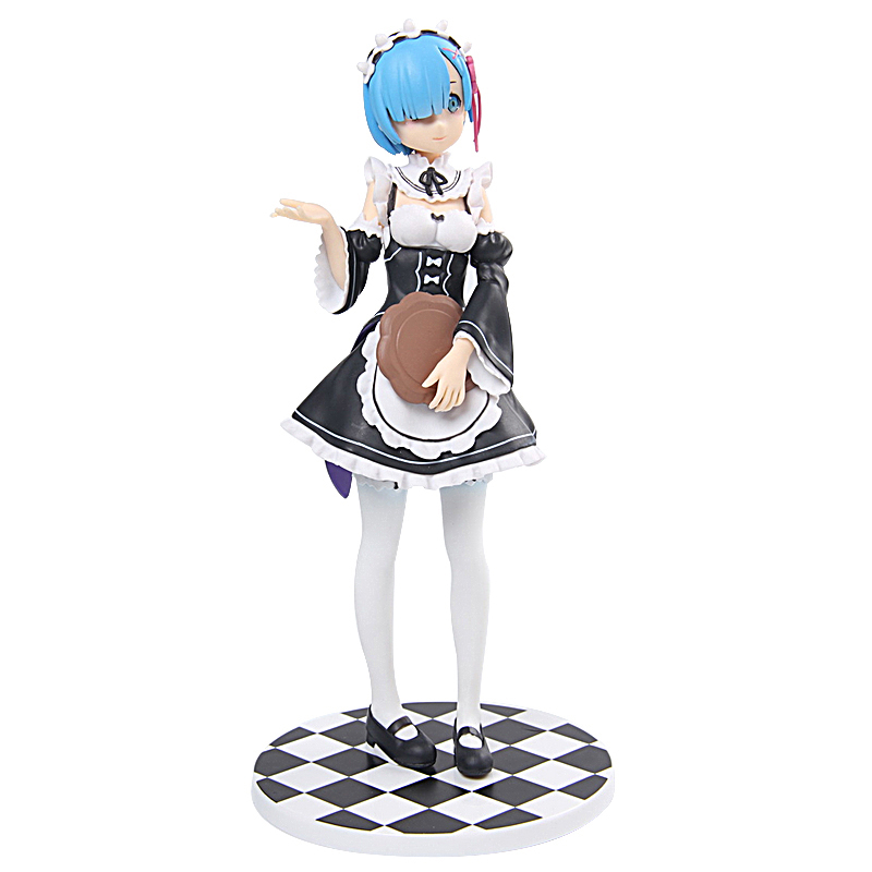 ZXZ Re:Life in a different world from zero Rem Action Figure Ram Nendoroid Figure Doll P ...