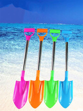 New popular beach large stainless steel shovel baby toys casual fashion
