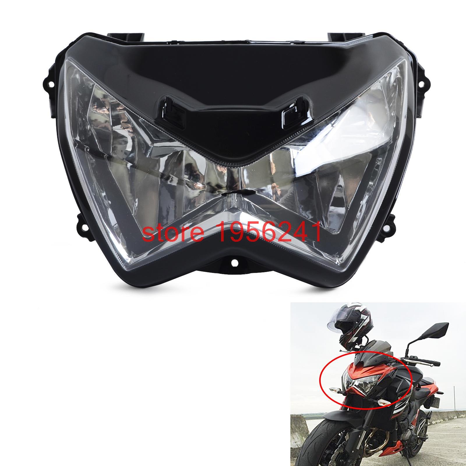Новый Ясно фара передних свет лампы для Kawasaki z250 Z800 2013 2014 2015 2016 z300 2015 2016 Новый