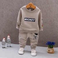 Bébé garçons filles vêtements ensemble survêtement infantile bambin vêtements costume coton manteau veste + pantalon enfants enfants Sport vêtements costume