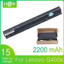 14.8W 2200mAh G400S Battery for Lenovo L12M4A02 L12S4A02 L12S4E01 L12L4A02 G410S G500 G500S G510S G405S G505S S410P S510P Z710 genuine new free shipping for lenovo g410s g400s g405s flex lcd video cable dc02001rs10