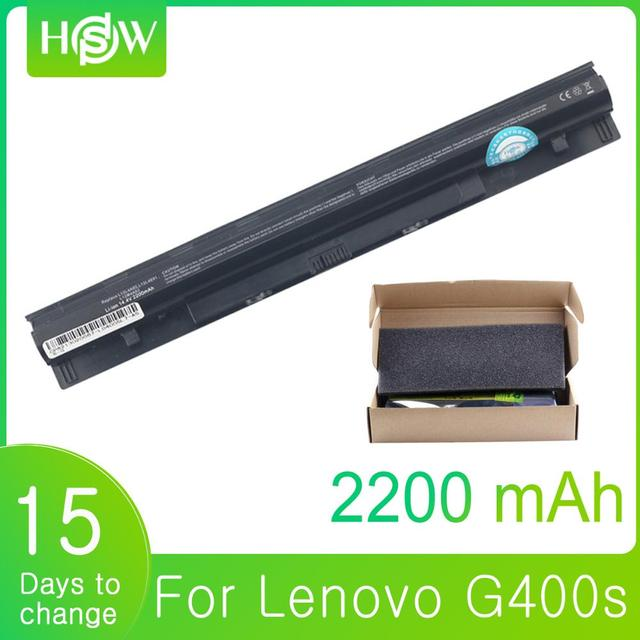 14.8W 2200mAh G400S baterii dla Lenovo L12M4A02 L12S4A02 L12S4E01 L12L4A02 G410S G500 G500S G510S G405S G505S S410P S510P z710
