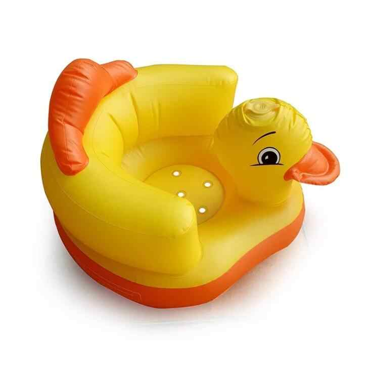 Многофункциональный Детский Надувной Диван для ванной комнаты ПВХ надувное сиденье для обучения обеду стул портативный стул для ванной для младенцев
