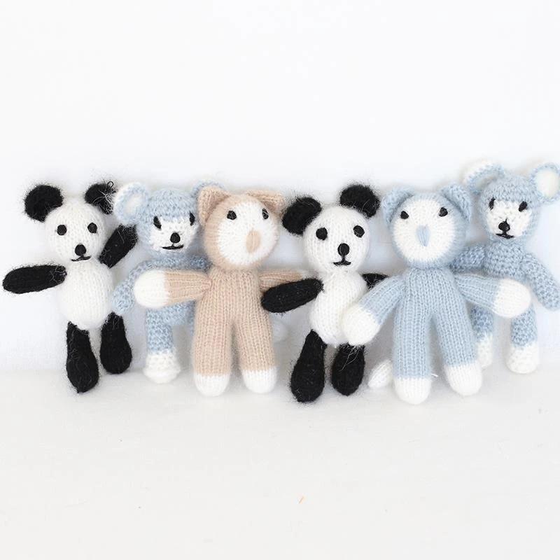 Crochet bear toy Stuffed teddy bear toy Stuffed animal toy gift for baby