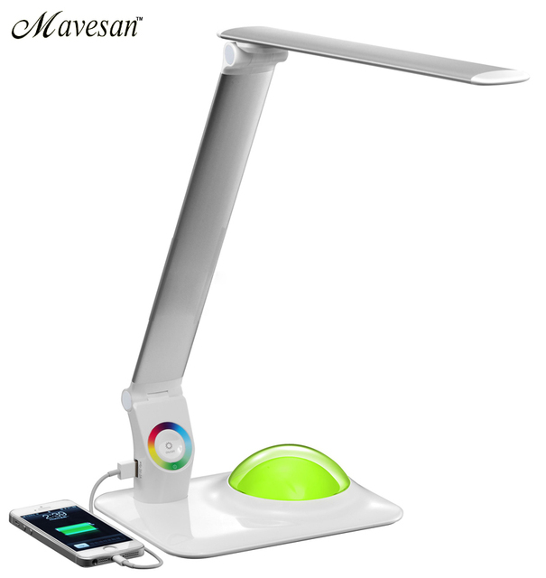 Incroyable Adjustable LED Reading Lamp With Eyes Protection Light And Special Base  Table Mode Luminaria De