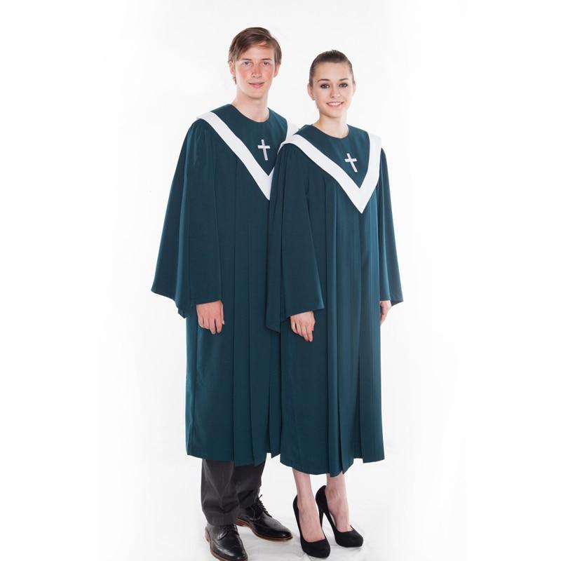 Christian Church Choir Hymn Robe Poem Clothing Chiesa Cristiana Del Poema Dell'inno Kirchenchor Hymne Gewand Gedicht Kleidung