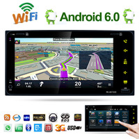 7 Android 6 0 HD Touch Screen 2DIN Car Radio Stereo GPS AM FM MP5 Player