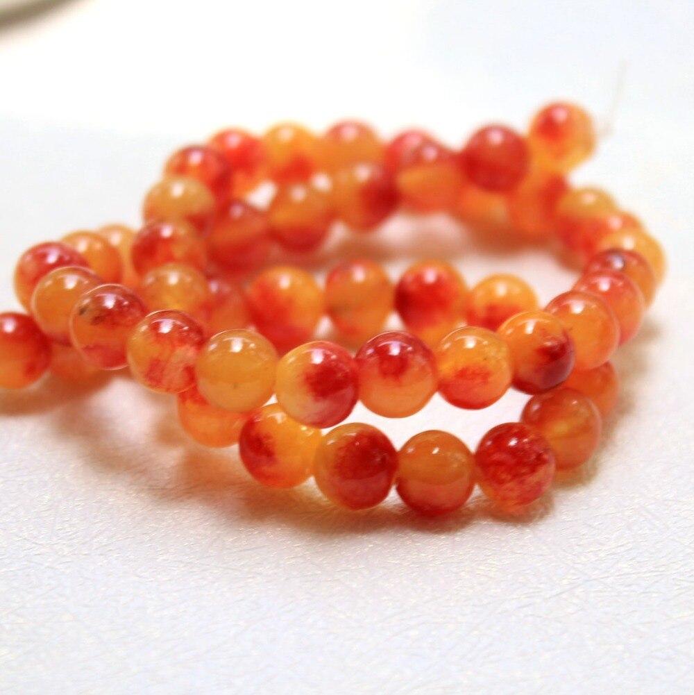 Браслет с оранжевым камнем