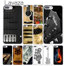 Lavaza Bass Guitar Strings Music Guitares Instrument Phone Case for iPhone XR XS Max X 8 7 6 6S Plus 5 5S SE 5C 4S 10 Cover(China)