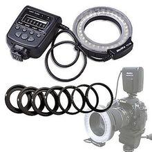 Haute Qualité Meike LED Macro Ring Flash Light FC-100 Pour Canon Nikon D7100 D7000 D5200 D5100 D5000 D3200 D310