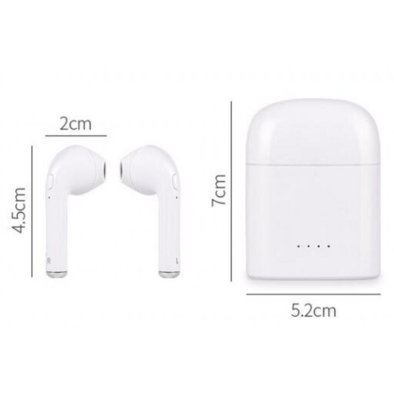 2017 New Double Ear mini bluetooth Headsets Earbuds wireless Headphone not Air Earphone Earpiece Pods for apple iphone Android