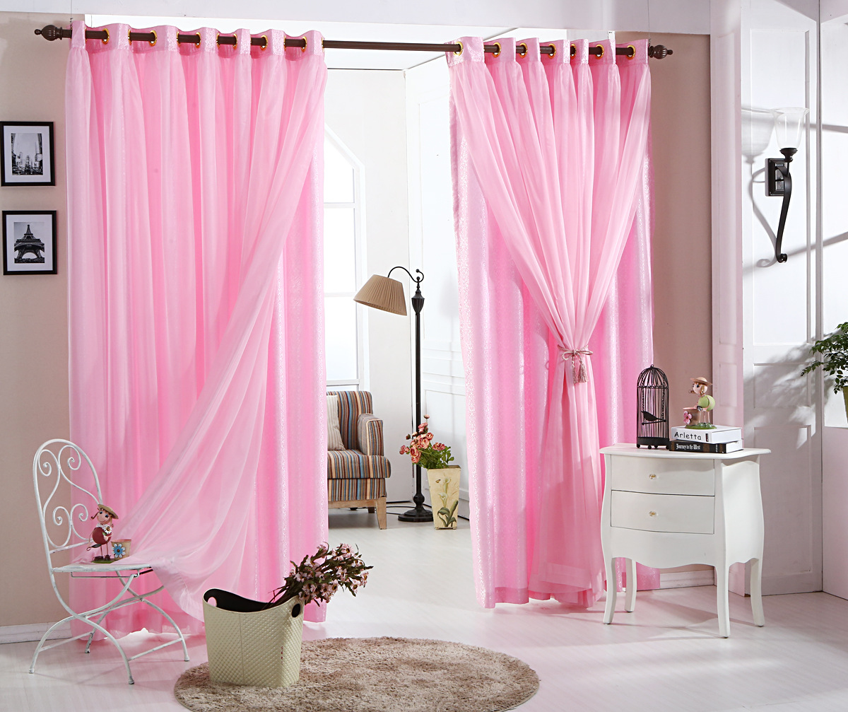 Lace Bedroom Curtains Aliexpresscom Buy Pastoral Lace Curtains Romantic Living Room