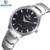 Vogue simples amantes skone original relógio de pulso de moda cristal de diamante relógio para homens business casual relógios homens resistente ao choque